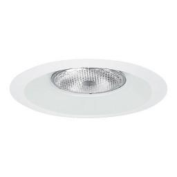 "6"" Recessed lighting Par 30 R 30 white splay trim"