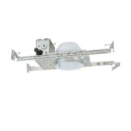 """4"""" Shallow recessed low voltage electronic 35watt non-IC air tight housing 120volt"""