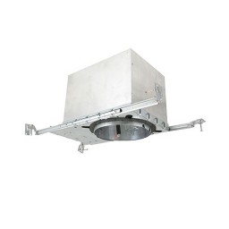 """6"""" Recessed lighting IC rated air tight 50watt MR16 electronic low voltage new construction housing"""