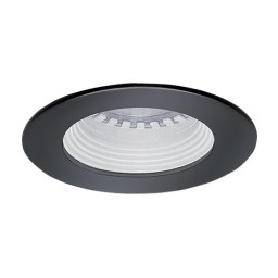 LED under cabinet recessed white baffle black trim 12 volt 3 watt MR16 LED