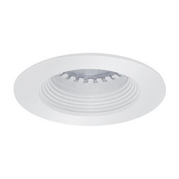 LED under cabinet recessed white baffle white trim 12 volt 3 watt MR16 LED