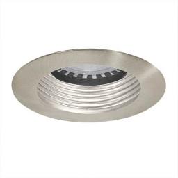 LED under cabinet recessed satin baffle satin trim
