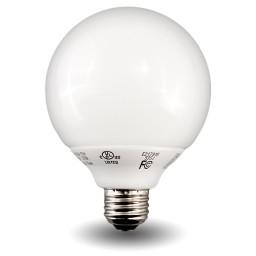 Globe Compact Fluorescent - CFL - 15watt - 27K