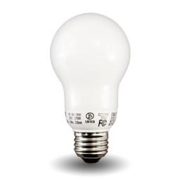 A-Lamp Compact Fluorescent - CFL - 9watt - 27K