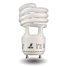 GU24 Spiral Compact Fluorescent - CFL - 19 watt - 27K