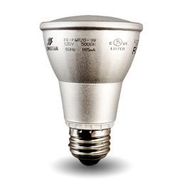 Par 20 Compact Fluorescent Lamp - CFL - 9watt - 50K
