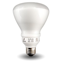 Dimmable R30 Compact Fluorescent - CFL - 15 watt - 27K