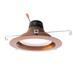 "Green Watt 6"" dimmable LED recessed lighting 18watt retrofit bronze reflector trim 4000K DL6DWP-18W-4000K-ORB"