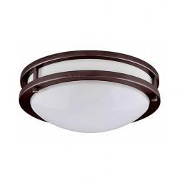 "LED 14"" two ring bronze ceiling surface light flush mount warm white 3000K dimmable LED-JR002L/BZ-W"