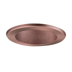 "4"" Recessed lighting LED retrofit bronze reflector bronze trim"