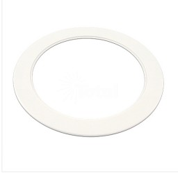 "6"" Recessed over sized white trim goof ring"
