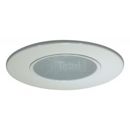 "2"" Recessed lighting white reflector trim"
