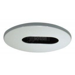 "2"" Recessed lighting white adjustable slot trim"