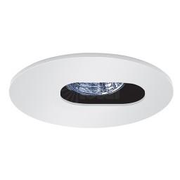 "3"" Low voltage recessed lighting white slot aperture trim adjustable"
