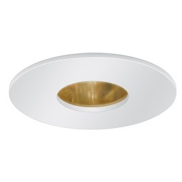 "3"" Low voltage recessed lighting gold reflector white pinhole trim"
