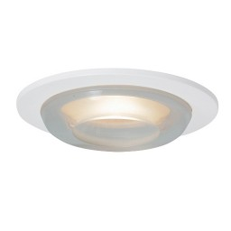 "3"" Low voltage recessed lighting crystal glass white metropolitan moon lite trim"