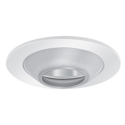 "3"" Low voltage recessed lighting clear chrome reflector frosted cone glass white illuminator trim"