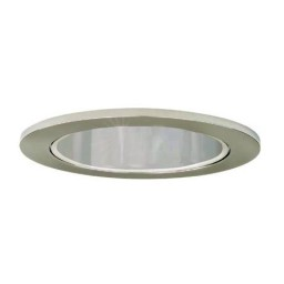 "4"" Low voltage recessed lighting 50 degree adjustable chrome reflector trim"