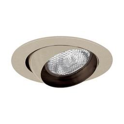 "4"" Recessed lighting satin eyeball trim rim for R/Par 20 lamp"