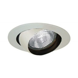 "4"" Recessed lighting white eyeball trim for R/Par 20 lamp"