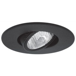 "4"" Recessed lighting Par 20 black gimbal ring trim"