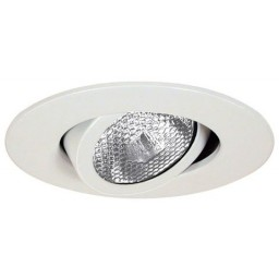 "4"" Recessed lighting Par 20 white gimbal ring trim"