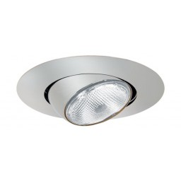 "5"" Recessed lighting Par 30 short neck chrome eyeball trim"