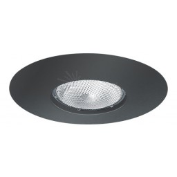 "6"" Recessed lighting Par 30 R 30 black open trim"