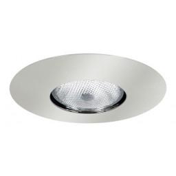 "6"" Recessed lighting Par 30 socket holder chrome open trim"