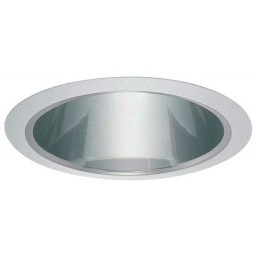 "6"" Recessed lighting Par 30 R 30 specular clear reflector trim"