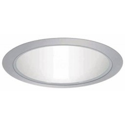 "6"" Recessed lighting A 19 specular white cone reflector white trim"