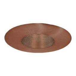 "6"" Recessed lighting Par 20 bronze stepped baffle bronze trim TLS651BZ-BZ"
