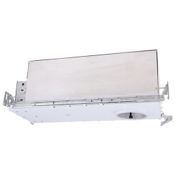 "2"" IC rated air tight low voltage 50 watt shallow noise free new construction recessed housing"