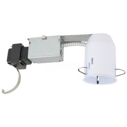 """3"""" Low voltage recessed remodel 50watt magnetic non-IC air tight housing"""