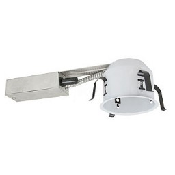 """4"""" Recessed low voltage 35watt electronic remodel shallow housing non-IC air tight 277volts"""