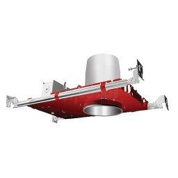 """Fire Rated 4"""" recessed lighting air tight IC housing, 1-Hour L500 P500, 2-Hour L505"""