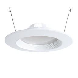 "Green Watt DL6DWP-18W-5000K 6"" dimmable LED recessed lighting 18watt retrofit white reflector trim 5000K"