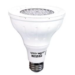 Recessed Lighting Green Watt PAR30D-9W-30KSS25 LED 9watt Par 30 Long Neck 5000K 25° Narrow Flood light bulb is dimmable