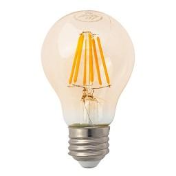 Recessed lighting LED vintage filament 7watt A19 Omni light bulb 2200K soft warm dimmable G-A19D7W22
