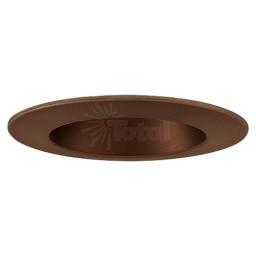 "4"" Designer Grade Recessed lighting LED retrofit bronze reflector bronze trim"