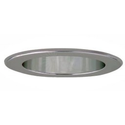 "5"" Recessed lighting LED retrofit reflector clear chrome"