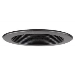 "5"" Recessed lighting retrofit unit black black"