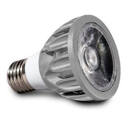 Architectural Grade LED PAR20 Light Bulb Flood 3000K Smart Dim Superior Color Rendering Silver SunLight2