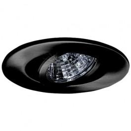 2 recessed lighting adjustable 35 degree tilt black gimbal ring trim
