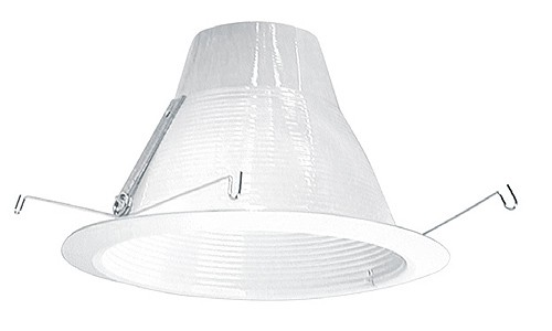 6 recessed lighting air tight white baffle white trim aloadofball Image collections