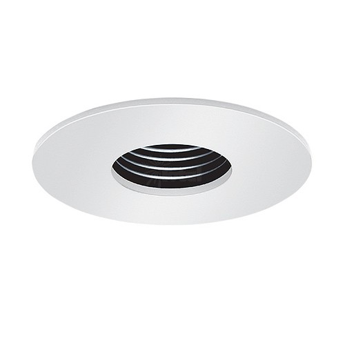 3 Low Voltage Recessed Lighting Black Baffle White Pinhole Trim
