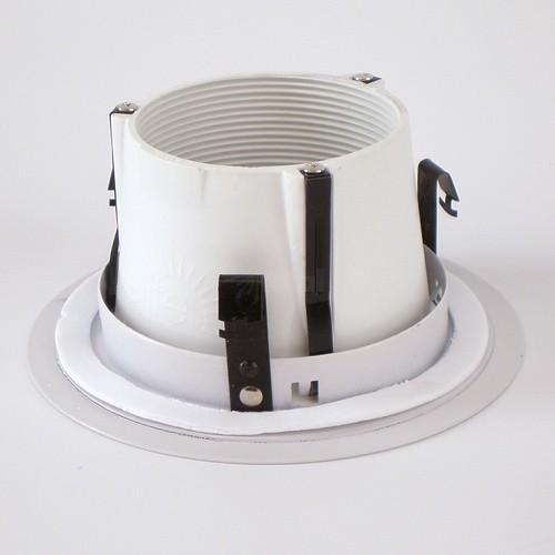 4 recessed lighting white baffle white trim aloadofball Choice Image