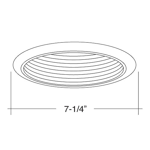 6 recessed lighting par 30 r 30 extra large ring white metal 6 recessed lighting par 30 r 30 extra large ring white metal stepped baffle white plastic trim mozeypictures Image collections