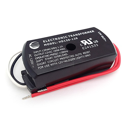 Under cabinet 150watt 12v AC Electronic Encapsulated TransformerTotal Recessed Lighting