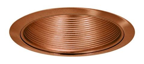 6 recessed lighting air tight copper baffle copper trim aloadofball Image collections